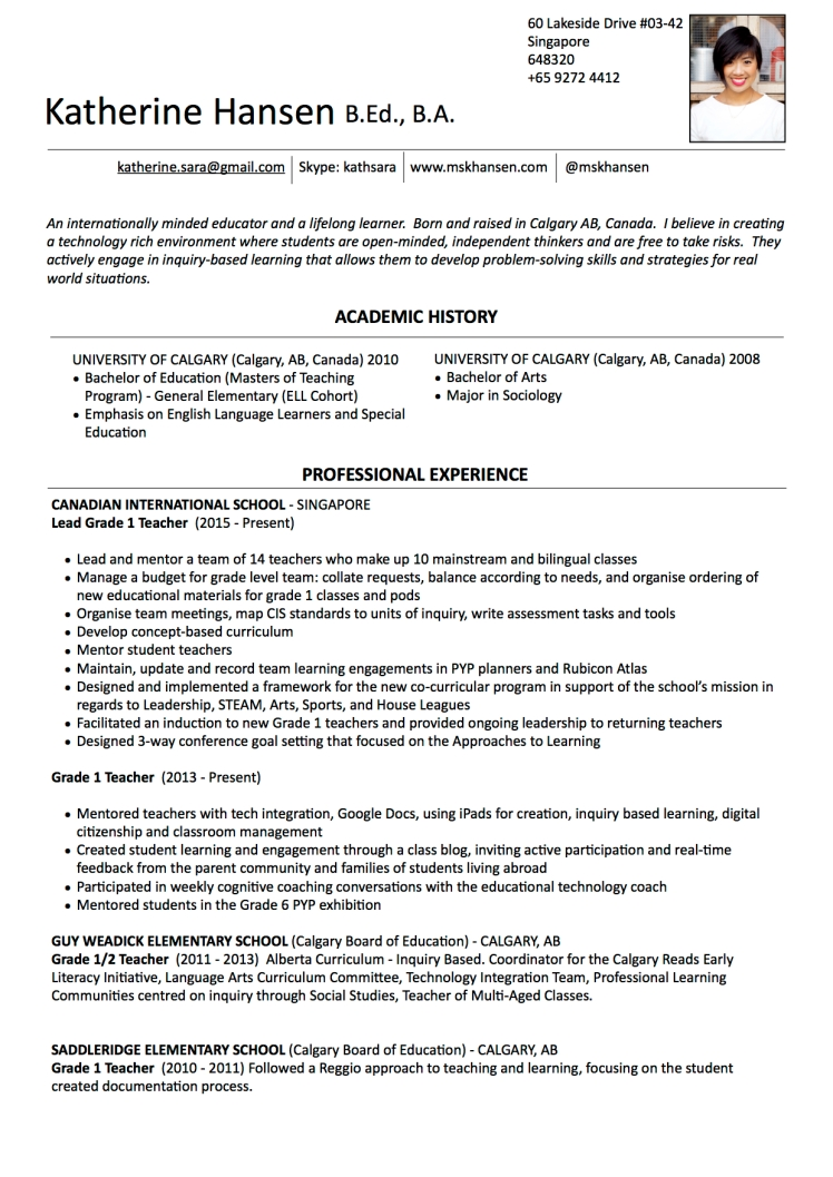 RESUME KatherineJPEG - 2015 NEW no phonenumbers