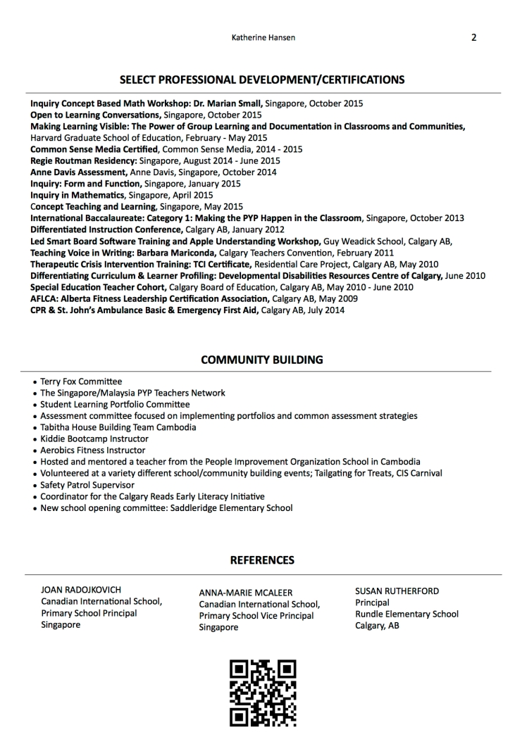 RESUME KatherineJPEG2 - 2015 NEW no phonenumbers